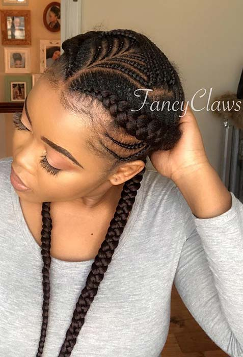 23 Two Braids Hairstyles Perfect For Hot Summer Days Page 2 Of 2 Stayglam