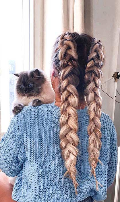 Two Braids Hairstyles Perfect for Hot Summer Days - crazyforus