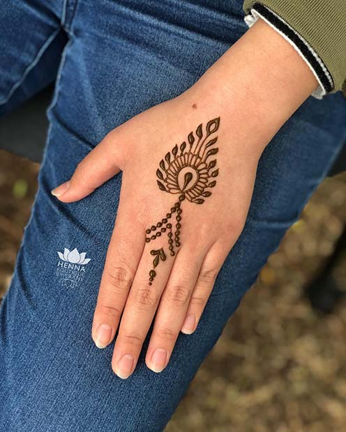 Simple Henna Wrist Designs For Beginners: 23 Simple Henna Designs That Are Easy To Draw