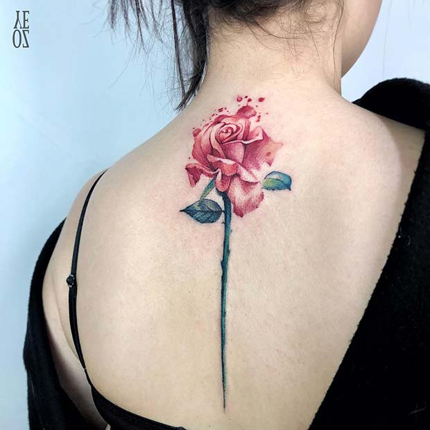 47 Breathtaking Watercolor Flower Tattoos Page 3 Of 5 Stayglam