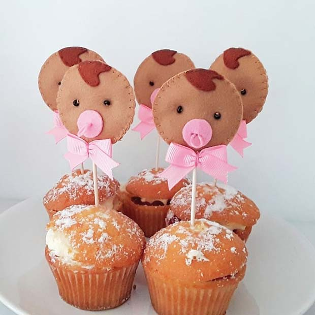 Cute Baby Cake Toppers