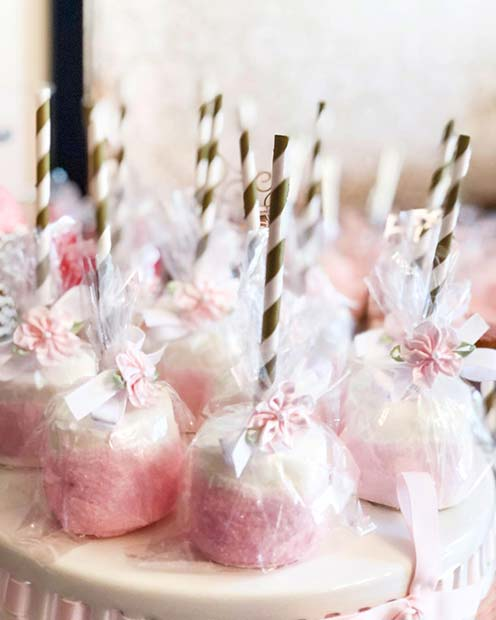 Cute Cake Pops for a Baby Shower