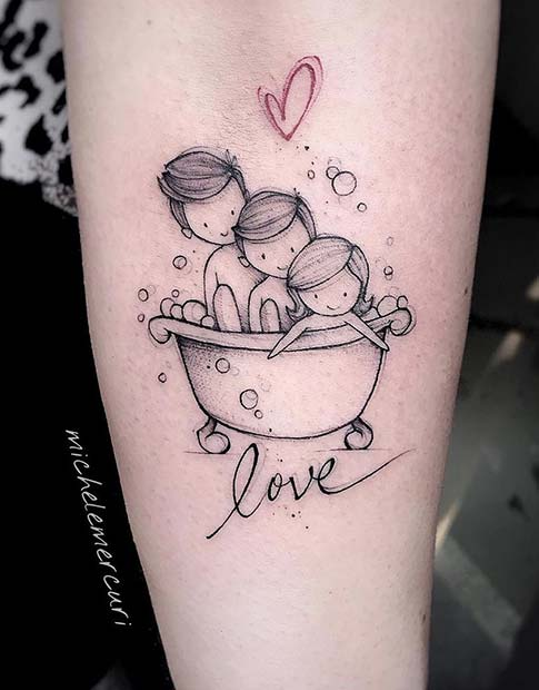 935a99432 25 Perfect Tattoos for Moms That Will Make You Want One | Page 2 of ...