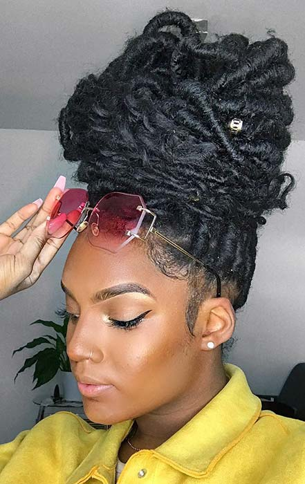 43 Chic Ways To Wear And Style Curly Faux Locs Page 2 Of
