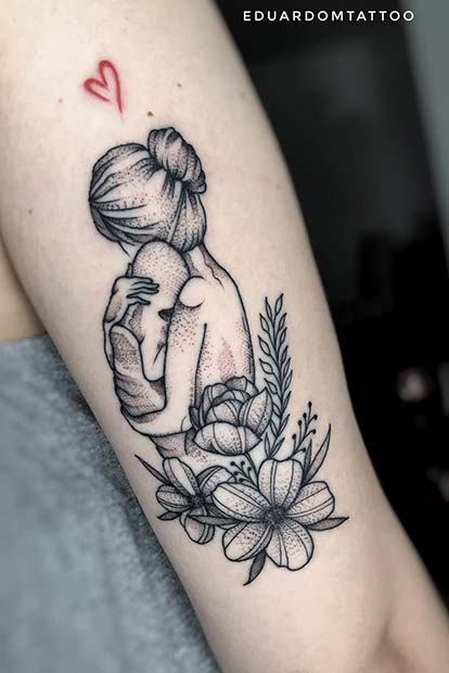 Son Tattoo Ideas: 15 Placement Ideas For The Perfect Mom Tattoo