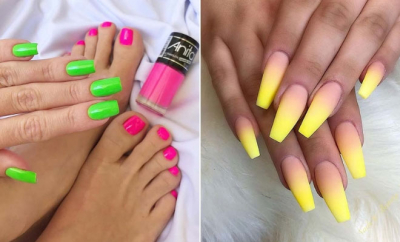 43 neon nail designs that are perfect for summer  page 2