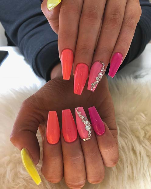23 Neon Nail Designs That Are Perfect for Summer | StayGlam