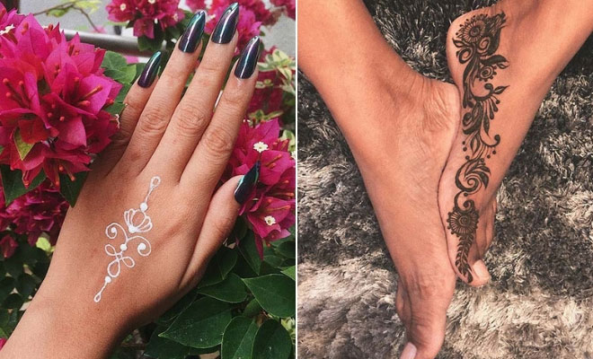43 Simple Henna Designs That Are Easy to Draw | StayGlam