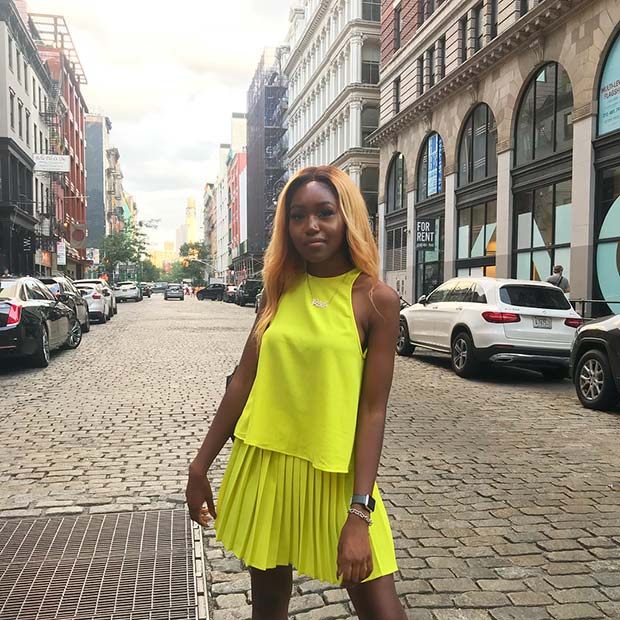 Yellow Neon Outfit Idea for Summer