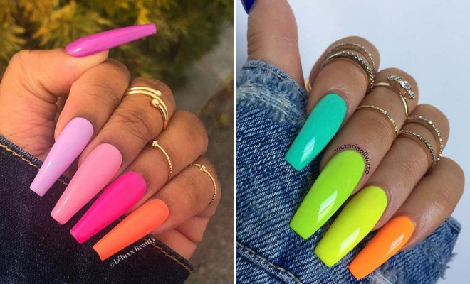 23 Colorful Nail Art Designs That Scream Summer | StayGlam