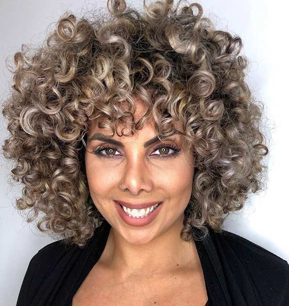 23 Curly Bob Hairstyles That Are Trending Right Now Page 2