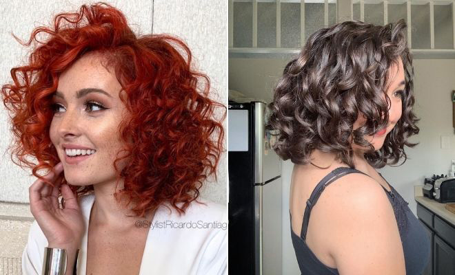 23 Curly Bob Hairstyles That Are Trending Right Now Stayglam