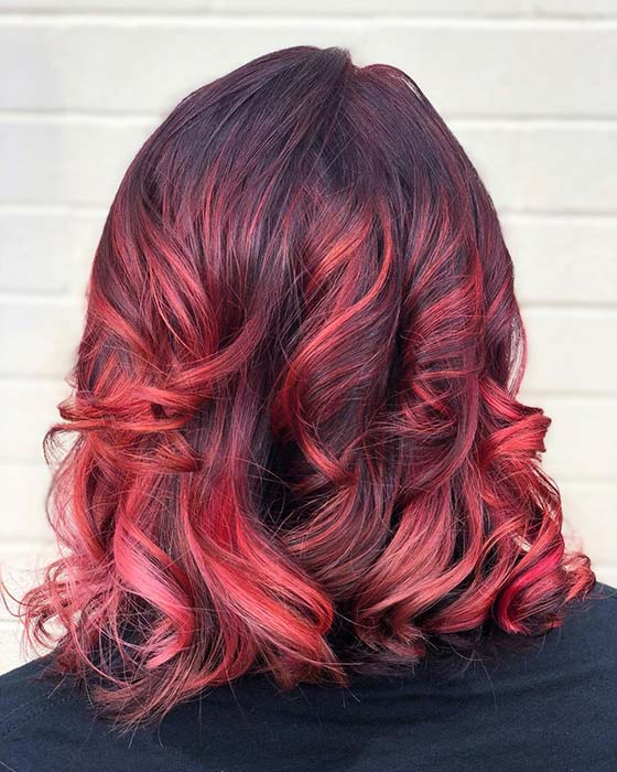 Short Curly Red Hair