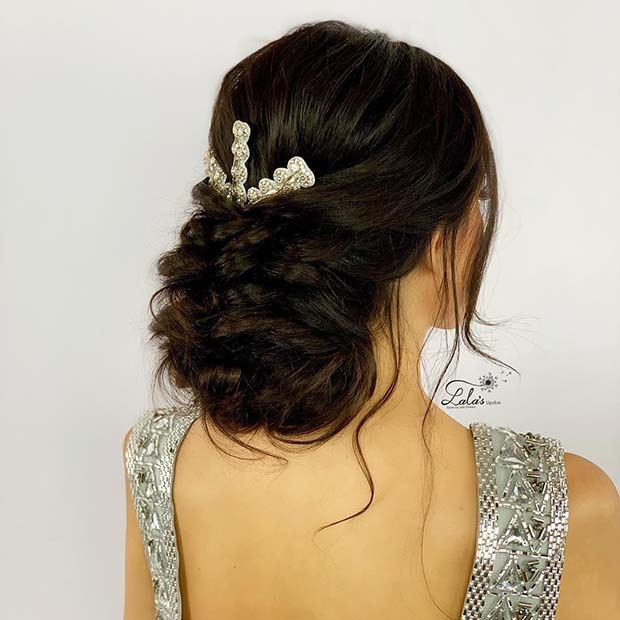 Glam Updo Idea
