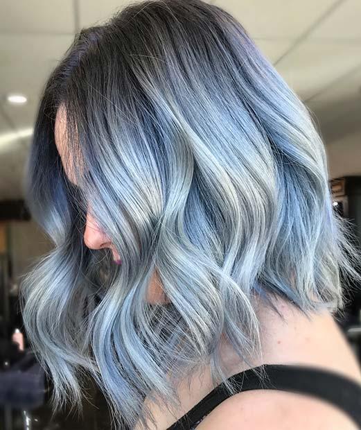 Pastel Blue Lob