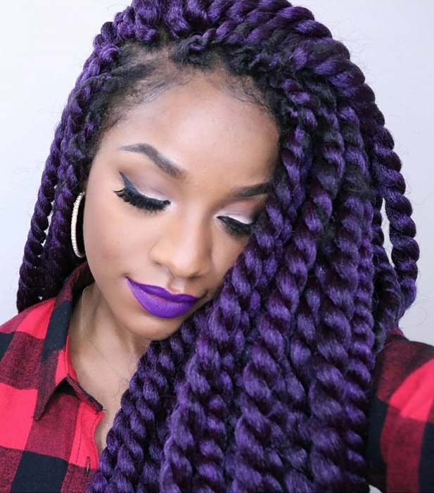 Pretty Purple Twists
