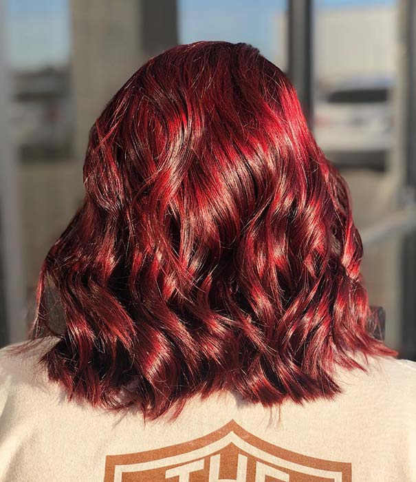 Rich, Dark Red Hair