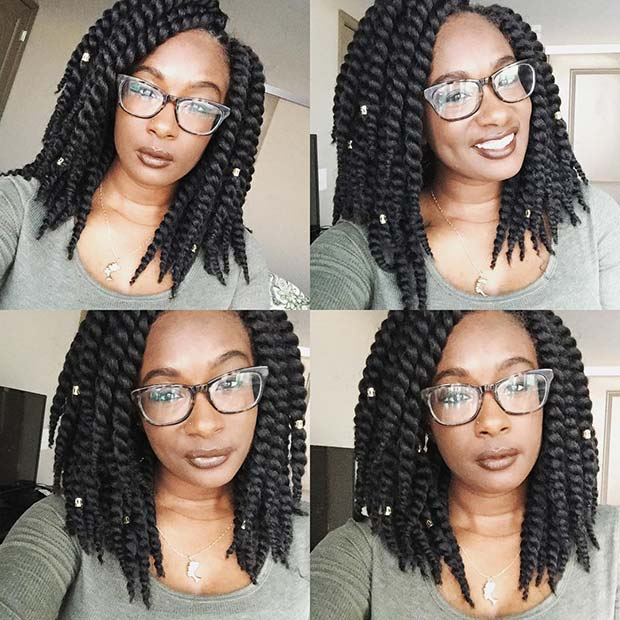 Short Havana Twists
