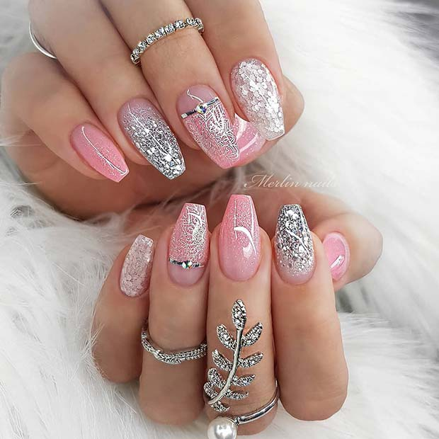 Nail Art Ideas: 13 Baby Pink Nail Designs And Ideas To Get Inspired