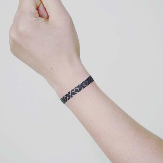 Stylish Geometric Bracelet Design