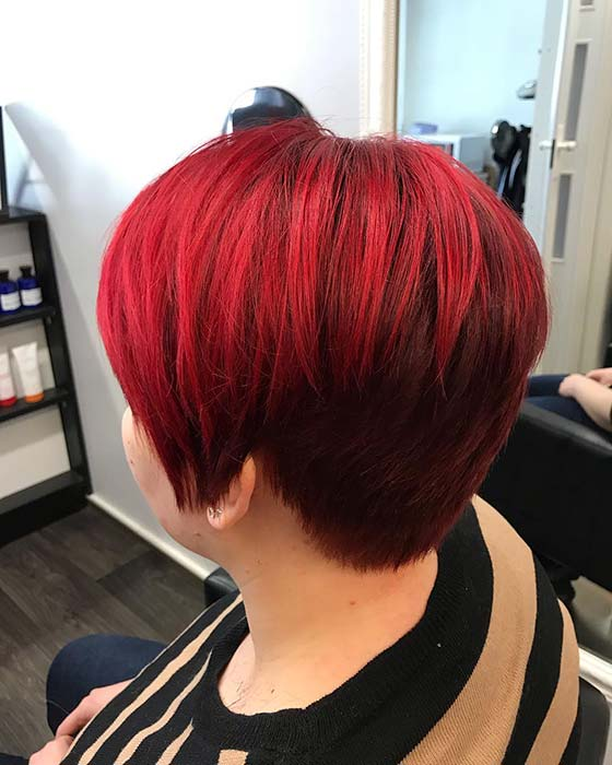 Stylish Short Red Hair Idea