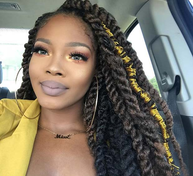 Black and Brown Twists