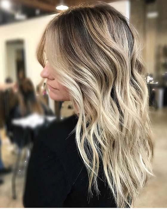 Beachy Blonde Highlights