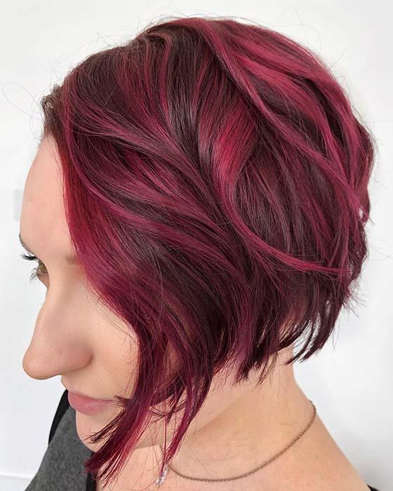 Bold Highlights for Short Hair