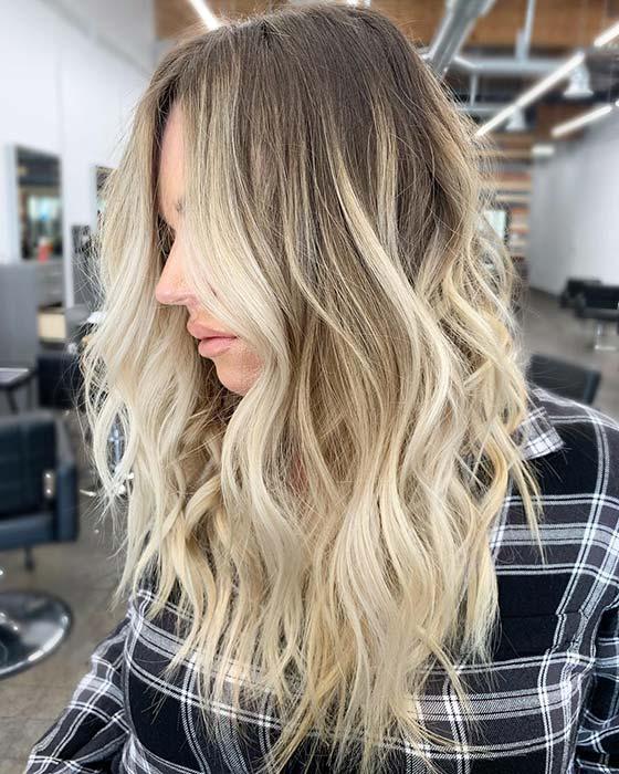 Bright Blonde Highlights