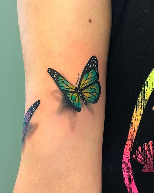 Bright Butterfly Design