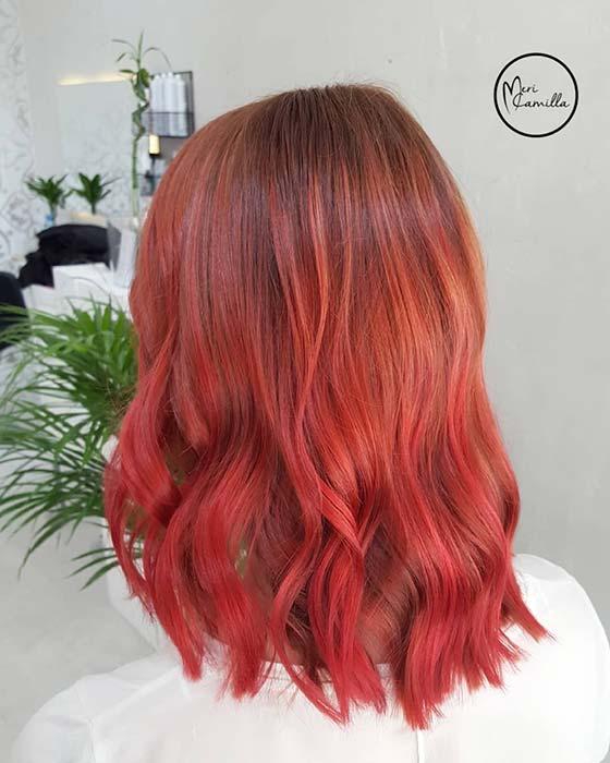 Bright Red Highlights Idea