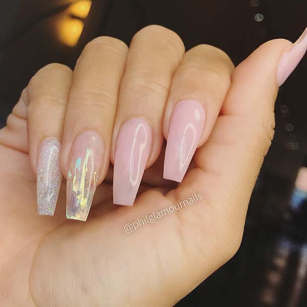 Chic and Classy Coffin Nails