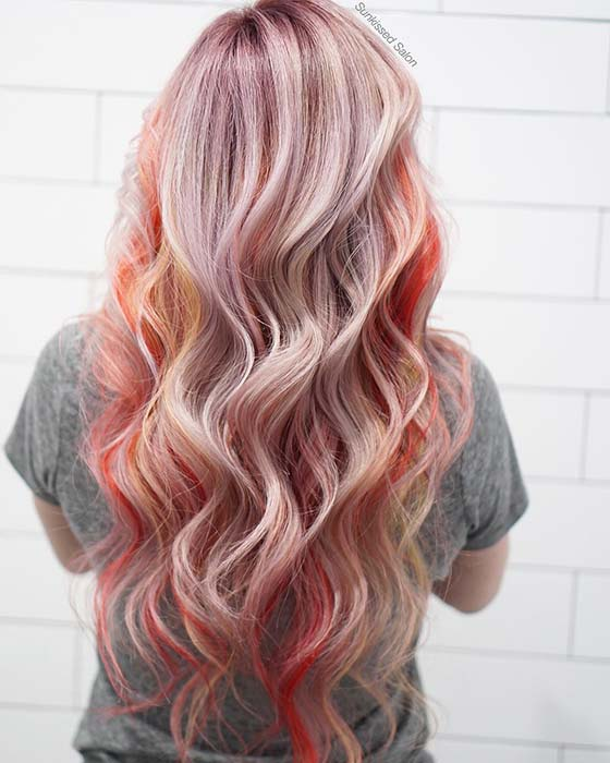 Colorful Highlights Idea