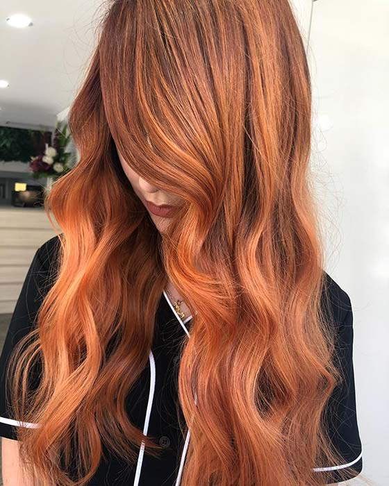 Bright Copper Highlights
