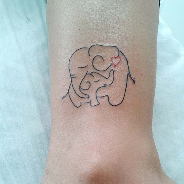 41 Cool and Creative Elephant Tattoo Ideas | Page 3 of 4 ...