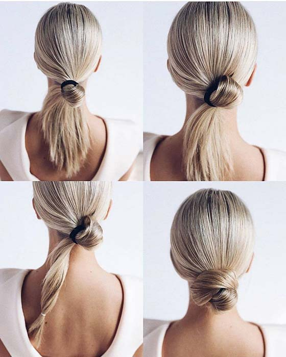 Cute and Easy Bun Tutorial