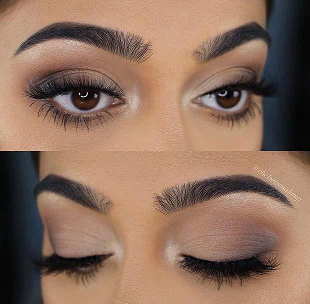 Glam Eye Makeup Idea