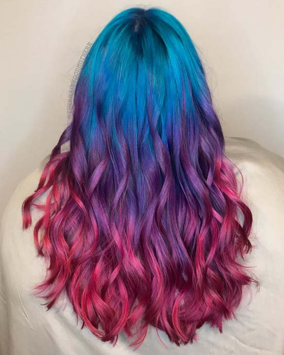 Jewel Rainbow Hair