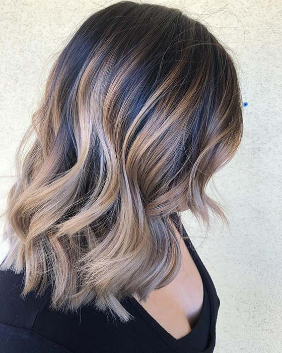 Light Blonde Highlights Idea