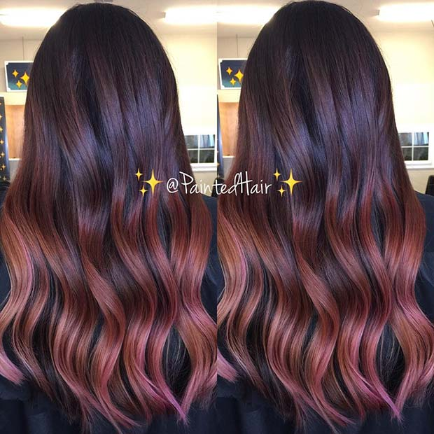 Light Strawberry Rose Highlights