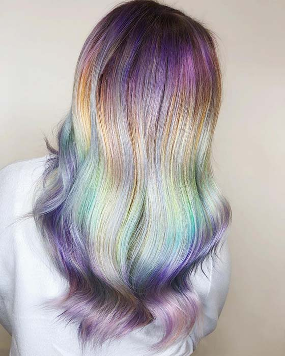 Magical Hair Color Idea