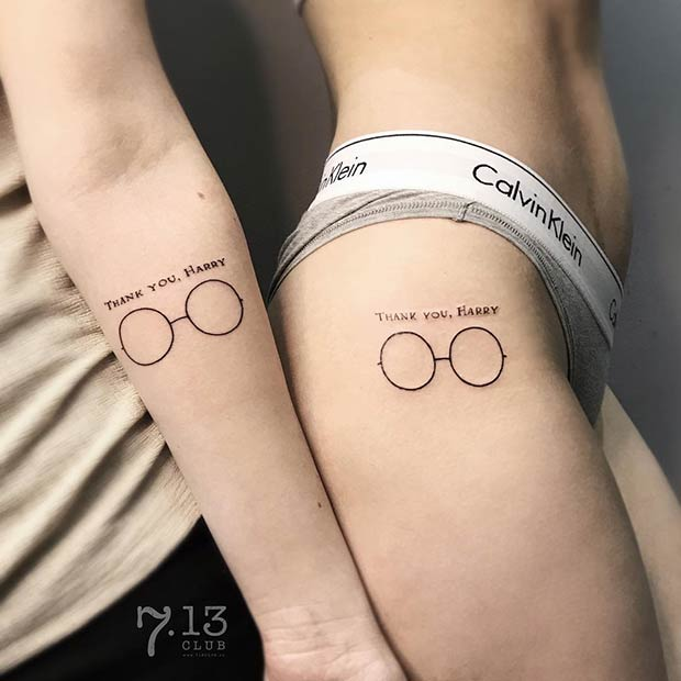 47 Cool And Magical Harry Potter Inspired Tattoos Page 3
