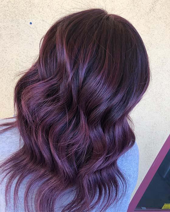 Purple Highlights Idea
