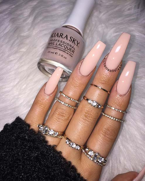 Simple and Stylish Nails
