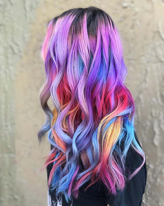 Stylish and Colorful Hair