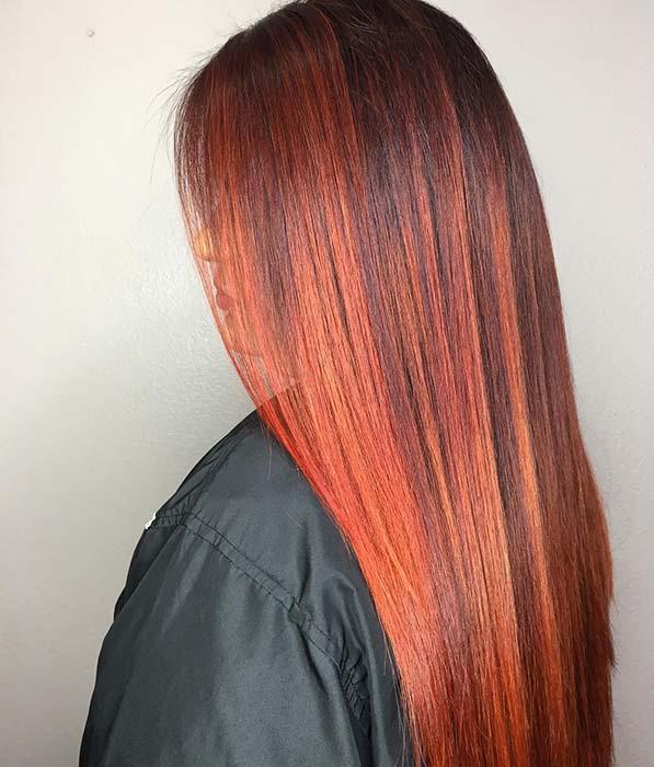 Stylish and Sleek Hairstyle