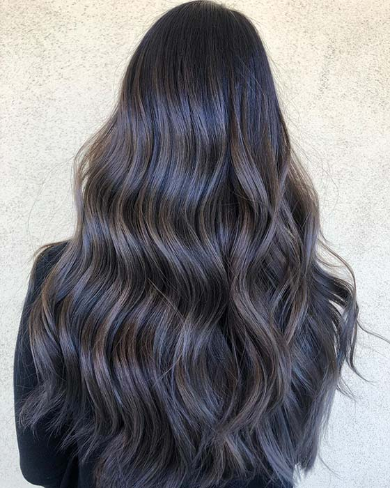 Subtle Highlights for Dark Hair