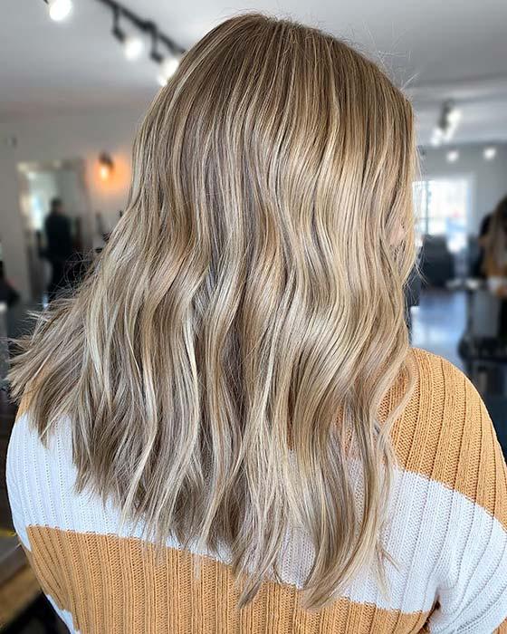 Summery Blonde Highlights