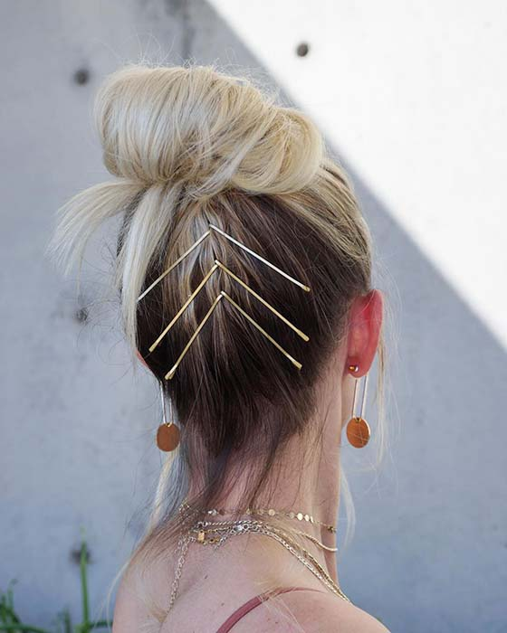 Trendy Accessorized Updo