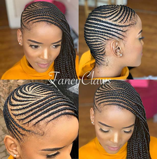 Trendy Thin Lemonade Braids